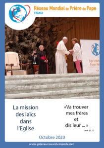 message du Pape pour le mois d'octobre