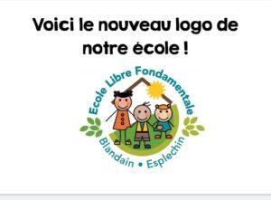 Un nouveau logo pour l'école libre de Blandain – Esplechin