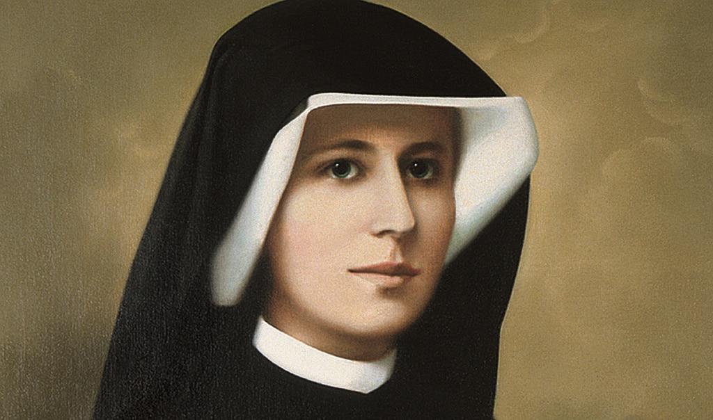 Sainte Faustine, la «secrétaire de la miséricorde» de Jésus